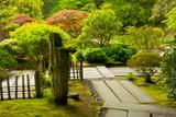 Strolling Garden  Portland Japanese Garden  Portland  Oregon  Usa