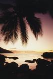 Seychelles  Mahe Island  Beau Vallon Bay  Sunrise