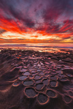 Amazing Sunset at the Tide Pools in La Jolla  Ca