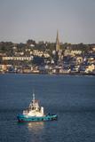 Tugboat in the Harbor of Cobh  Cork  Ireland