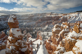 Bryce Canyon Amphitheater  Bryce Canyon NP in Snow  Utah