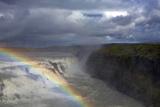 Gullfoss Fall  Iceland