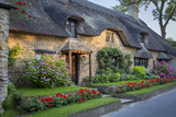 Thatched Cottage in Broad Campden  Cotswolds  Gloucestershire  England