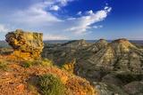 Badlands  Terry Badlands Wilderness Study Area  Montana  Usa