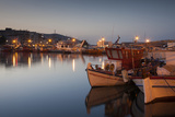 Greece  Thessaly  Pelion Peninsula  Volos  Fishing Port  Dawn