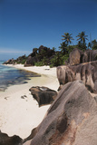 Seychelles  La Digue Island  Union Bay  Point Source D'Argent