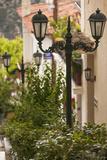 Central Greece  Delphi  Streetlight
