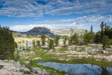 Alaska Basin Lakes  Caribou  Targhee National Forest  WYoming