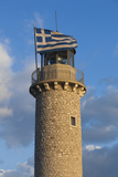 Greece  Peloponnese  Patra  Patra Lighthouse  Dawn