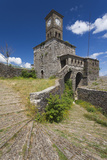 Albania  Gjirokastra  Castle Clock Tower
