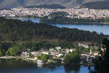 Greece  Epirus  Ioannina  City View  Lake Pamvotis and Nisi Island
