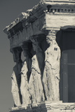 Greece  Athens  Acropolis  the Erechtheion  Porch of the Caryatids