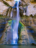 Lower Calf Creek Falls in Grand Staircase-Escalante Nat Monument  Ut