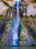 Lower Calf Creek Falls in Grand Staircase-Escalante Nat Monument  Ut