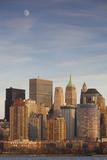 USA  New York  Lower Manhattan Skyline from Jersey City