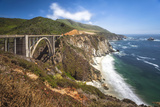 The Bixby Bridge Along Highway 1 on California's Coastline