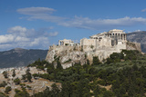 Central Greece  Athens  Elevated Acropolis View from Pnyx Hill