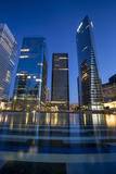 Modern Buildings of La Defense  Paris  France