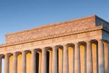 USA  Washington Dc  Lincoln Memorial  Sunrise