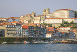 Oporto from the Cais De Ribeira Up Through Hill  Portugal