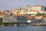 Oporto from the Cais De Ribeira Up Through Hill  Portugal