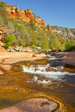 Oak Creek  Slide Rock State Park  Sedona  Arizona  Usa