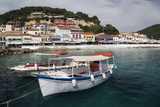 Greece  Epirus  Parga  Town View from the Harbor