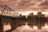 USA  Pennsylvania  Harrisburg  City Skyline from the Susquehanna River