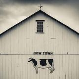 USA, Pennsylvania, Dutch Country, Smoketown, Barn with Cow Art Papier Photo par Walter Bibikow