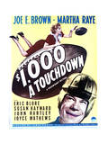 $1000 a Touchdown - Movie Poster Reproduction