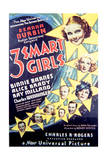 Three Smart Girls - Movie Poster Reproduction