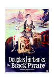 The Black Pirate - Movie Poster Reproduction