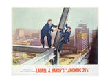 Laurel and Hardy's Laughing 20's - Lobby Card Reproduction
