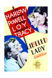 Libeled Lady - Movie Poster Reproduction
