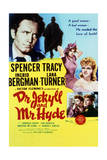 Dr Jekyll and Mr Hyde - Movie Poster Reproduction