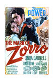 The Mark of Zorro - Movie Poster Reproduction