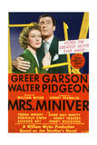 Mrs Miniver - Movie Poster Reproduction