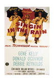 Singin' in the Rain - Movie Poster Reproduction