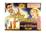 Blondie Plays Cupid - Lobby Card Reproduction