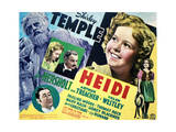 Heidi - Lobby Card Reproduction