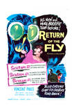 Return of the Fly - Movie Poster Reproduction
