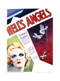 Hell's Angels - Movie Poster Reproduction