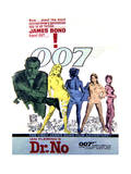 Dr No - Movie Poster Reproduction