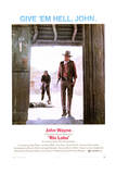 Rio Lobo - Movie Poster Reproduction