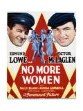 No More Women - Movie Poster Reproduction