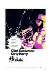 Dirty Harry - Movie Poster Reproduction