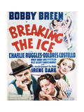 Breaking the Ice - Movie Poster Reproduction