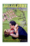 Flesh and the Devil - Movie Poster Reproduction