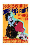 Charley's Aunt - Movie Poster Reproduction