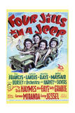 Four Jills in a Jeep - Movie Poster Reproduction